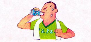 スポーツ飲料も歯を溶かします