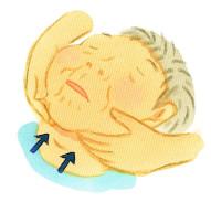 唾液腺マッサージ1