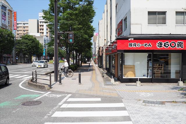 下関駅から加藤歯科医院までの道順6