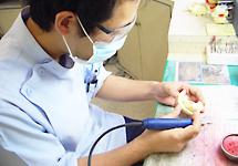 歯科技工士による人工歯製作